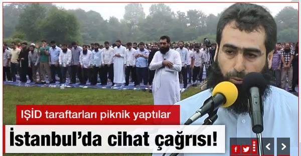 İstanbul'da eğitilen IŞİD militanları.