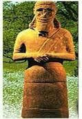 HUB (Tahıl) EL (Tanrı) Keçi başlı Şeytan Bereket tanrısı Hubel